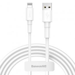 Baseus Mini White Cable USB for iPhone