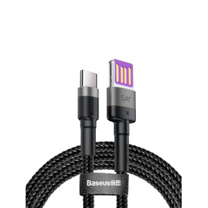 Baseus Quick Charging Cable USB for Type-C Black