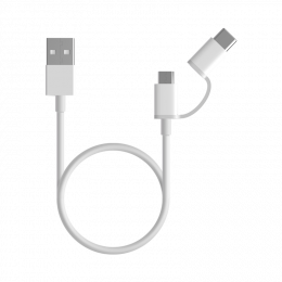Mi 2-in-1 USB Cable 100 cm